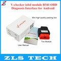 2015 Nueva Llegada V-inspector IOBD B341 Módulo Módulo OBD Interfaz de Diagnóstico para Android V-inspector IOBD B341 envío Gratis