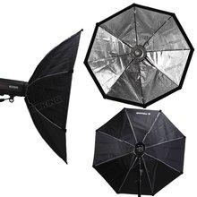 """120 เซนติเมตร/48 """"Octobox Octagon Softbox Bowens Mount สำหรับ Studo Light Strobe Flash Photo Studio อุปกรณ์เสริม"""
