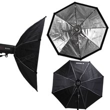"120 cm/48 ""Octobox Octagon Softbox Bowens Mount voor Studo Licht Strobe Flash Photo Studio Accessoires"