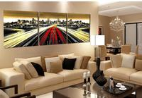 Picture Of City Scenery Canvas Painting Modern Super Highway Wall Art Painting On Canvas Decorative Kitchen