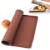 Non Stick Silicone Baking Mat Pad Swiss Roll Baking Sheet Rolling Dough Mat Large Size For