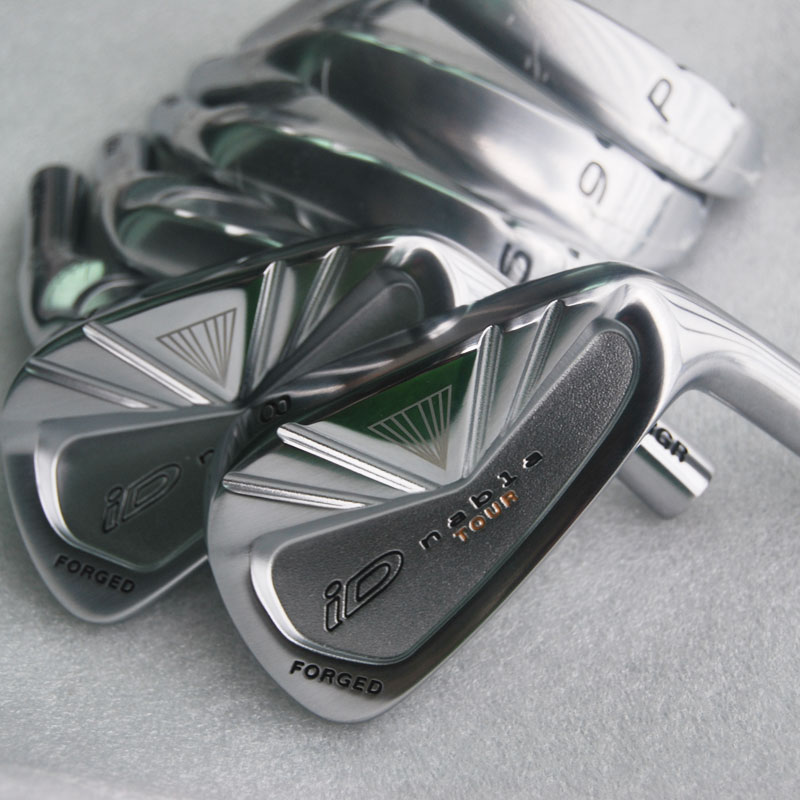 New Mens Golf head iD nabla TOUR Golf irons head set 4-9 P Irons head no shaft Free shipping