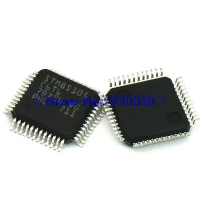 2pcs/lots STM8S105C6T6 STM8S105 TQFP-48 In Stock