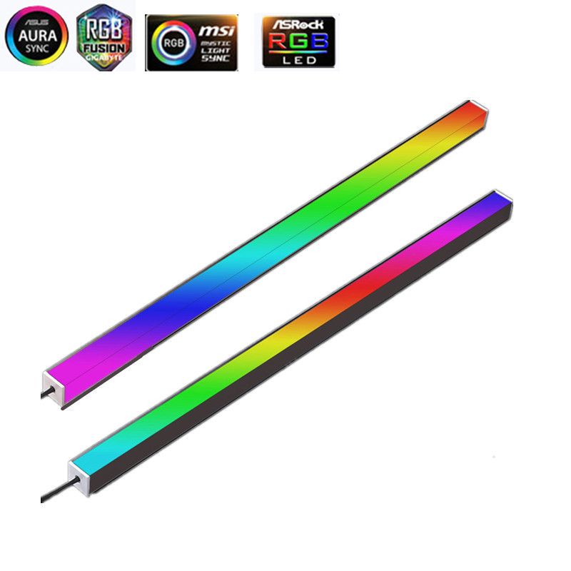 Symphony PC RGB Lighting Strip  Chassis Magnetic D-RGB Strip 40CM Pollution Atmosphere 5V ASUS AURA SYNC