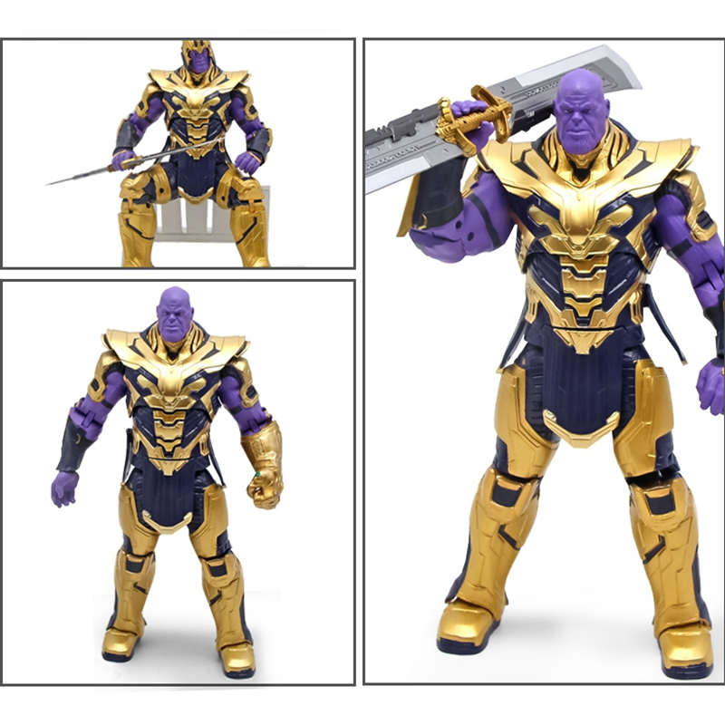 "Endgame Armored Thanos Toy Gift 8/"" Action Marvel Legends Thanos Figure Avengers"