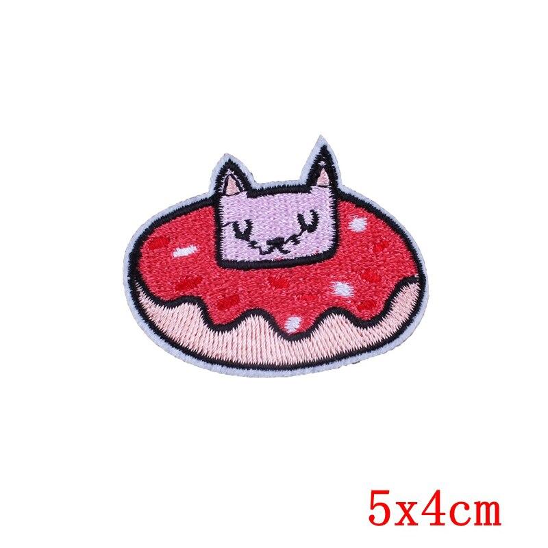 Prajna conejo gato Lucky espacial del remiendo applique hierro coser ...