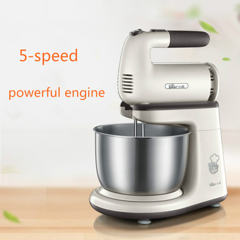 Bear Mixer Blenders Electric Egg Whisk Both Handheld and Table Type Dough Mixer and Noodle Machine Egg Beater