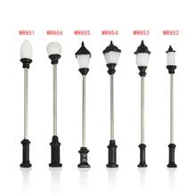 LED 3V  high light scale model metal lamppost light for architecture