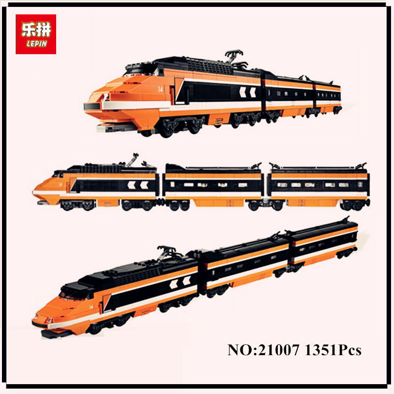 IN STOCK lepin 21007 1351Pcs Out of print, the sky train Model Building Kits Figures Blocks Bricks Toys Compatible With 10233 dhl new lepin 06039 1351pcs ninja samurai x desert cave chaos nya lloyd pythor building bricks blocks toys compatible 70596