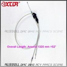 Acelerador de Gas Doble Doble Cable de Poder Jet Bomba de Aceleración Del Carburador 200cc 250cc Dirt Bike Motorcycle Parts