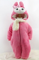 Winter Hot Style Cute Baby Family Animal Models Combined With Bag Feet Baby Climb Men And