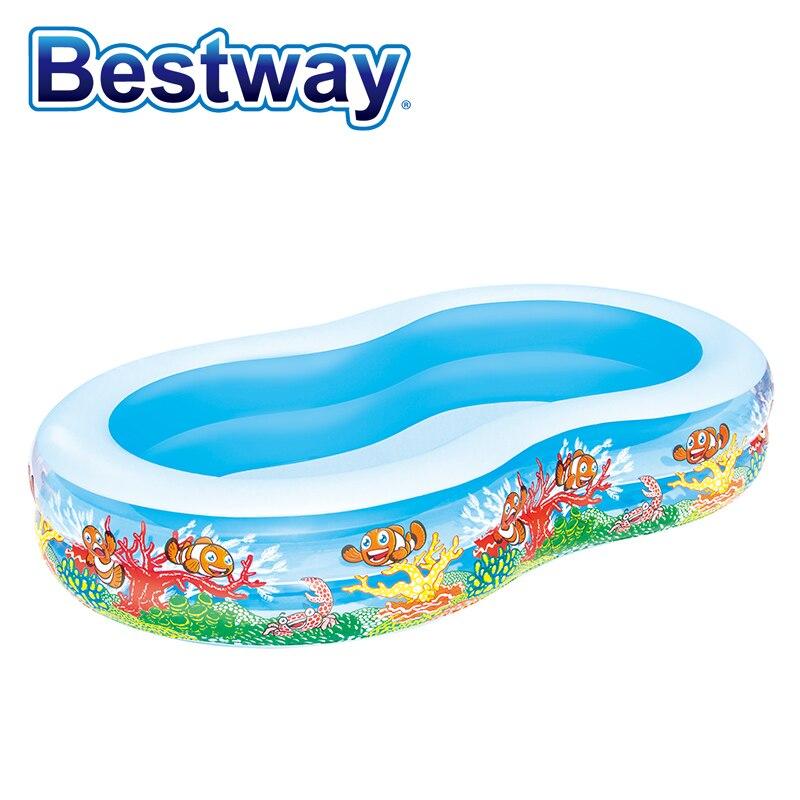 54118 Bestway 8.6x62x18/2.62mx1.57mx46cm Play Pool/children swimming pool/heightening thickening pool-w