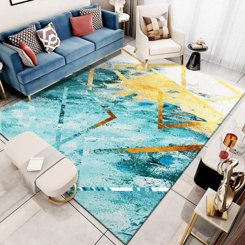 Nordique INS grand tapis hôtel maison salon chambre tapis art café tapis de sol Machine lavable personnalisation
