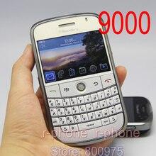 Отремонтированный 9000 мобильный телефон Blackberry 9000 Bold мобильный телефон разблокирован 3g gps Wi-Fi Bluetooth и один год гарантии