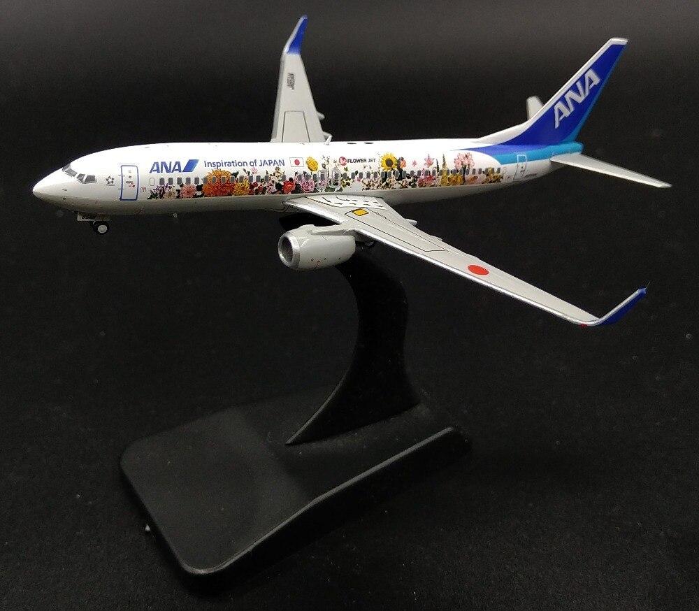 JC Wing 1: 400 ANAN Boeing 737-800 alloy aircraft model XX4690 Collection model 1 400 jinair 777 200er hogan korea kim aircraft model
