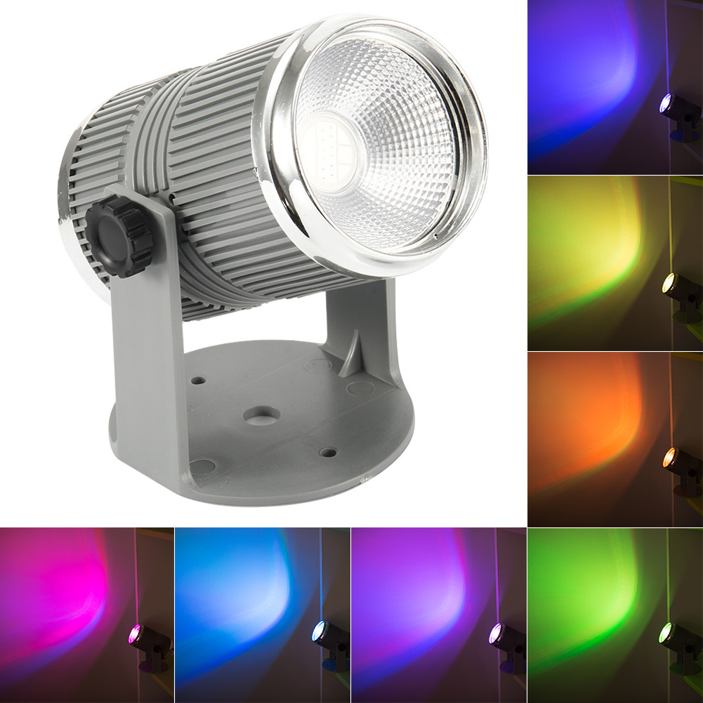 Lights & Lighting Spotlights The Best 9w Rgb Led Spot Light Garden Square Yard Flood Lamp For Party Disco Night Club Jdh99 Excellent Quality
