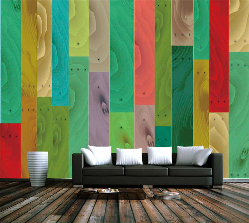 3d Home Wallpaper Hd Wood Wallpaper Bedroom Best Wallpapers Tv Room Furniture Sitting Room Furniture Wall Decals For Living Room Aliexpress