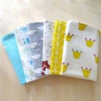 (Lenzuolo 1 pz) lettino coprimaterasso 1 pz 100% cotone 150x115 cm lenzuolo bambino per i ragazzi della neonata presepe