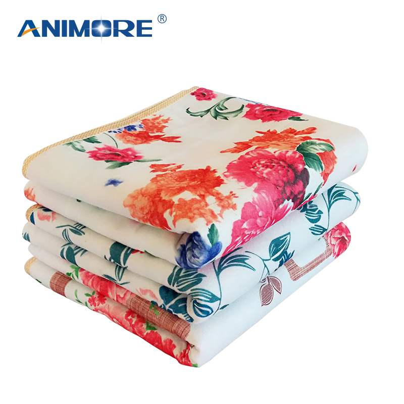 ANIMORE Electric Blanket Electric Heated Blanket Mat Electrica Blanket Heated Blanket Couverture Electrique Carpets Heated EH