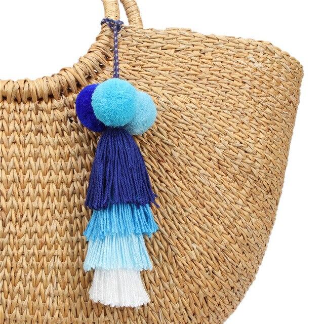 Брелок для ключей naomy & zp с кисточкой брелок сумкой ювелирные