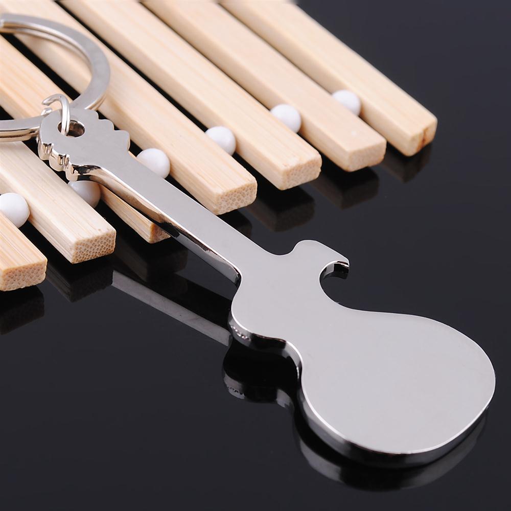 Online Shop XIAOJINGLING Guitar Pendant Keychain Creative Kitchen  Accessories Key Ring Fashion Dual Use Key Chain Jewelry For Women Men Gift  | Aliexpress ...