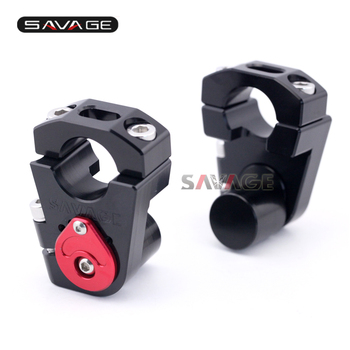 Handlebar Riser Bar Clamp For HONDA CRF1000L 2016 17 18 2019 CRF 1000L Motorcycle Accessories CNC Extend Adapter Adjustable