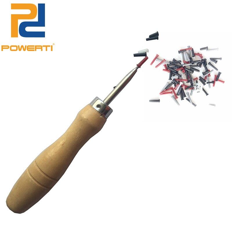 Powerti шило Бадминтон ракетки Втулки защиты труб Инструменты нанизывая Станки выйти Втулки круглый Инструменты acc-167