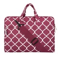 Mosiso mulheres mensageiro saco portátil maleta de notebook para macbook pro 15 polegadas hp lenovo acer sumsung 15.6 polegada laptop maleta