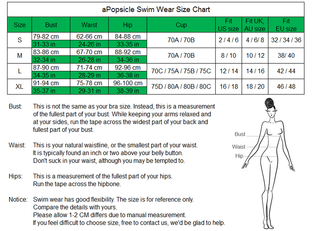 OB size chart 1000x740
