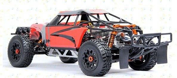 Nouveau style double moteur 1/5 échelle RC voiture 60cc baja rc marque moteur