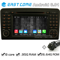 8 Cores Octa Core Pure Android 6 01 Car DVD Player For Benz ML CLASS W164