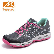 MERRTO Outdoor Hiking Athletic Shoes Women Breathable Walking Shoes Female Trekking Sport lightweight mountain Hiking Shoes