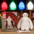 Mudança de cor grande herói 6 Baymax USB LED noturna de mesa crianças luzes lâmpadas lâmpadas