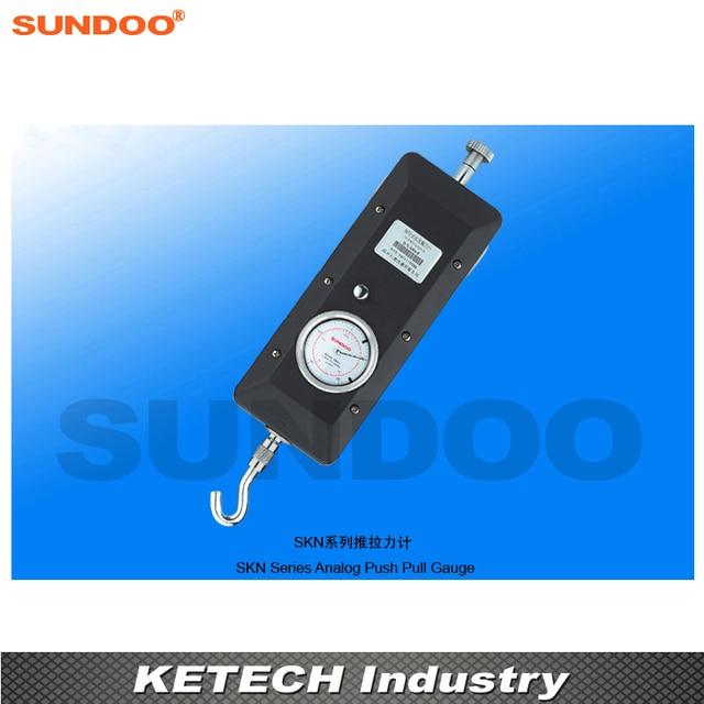 Sundoo SKN-2 2000N El Analog Pointer Gerginlik kuvvet ölçer Itme Çekme Test Cihazı