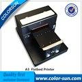 Большое содействие Без покрытия A3 размер Планшетный Принтер для ПВХ, ПУ, ТПУ, ABS материал печать непосредственно
