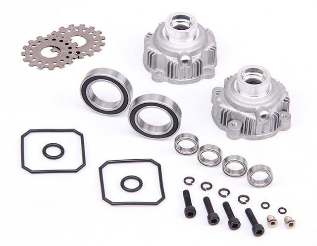 Rovan parts 1/5 gas rc baja spare parts Alloy diff.gear shell set