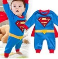 Baby Boy Rompers Superman Spiderman Wukong Baby Girl Cartoon Rompers Baby Spring Summer Jumpsuit Baby Christmas Festival Clothes