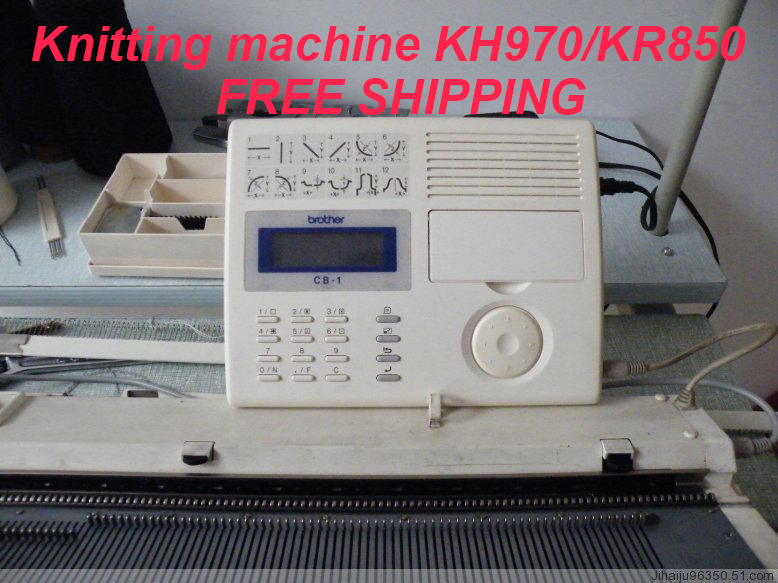 free shipping Knitted machine brother PATTERN PROGRAMMING ...