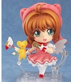 "Free Shipping Cute 4"" Nendoroid Card Captor Cardcaptor Sakura 10cm Boxed PVC Action Figure Set Model Collection Toy"