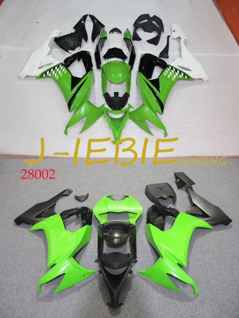 ABS Injection Fairing Body Work Frame Kit for Kawasaki NINJA ZX10R ZX10 ZX 10 R 2008 2009 2010