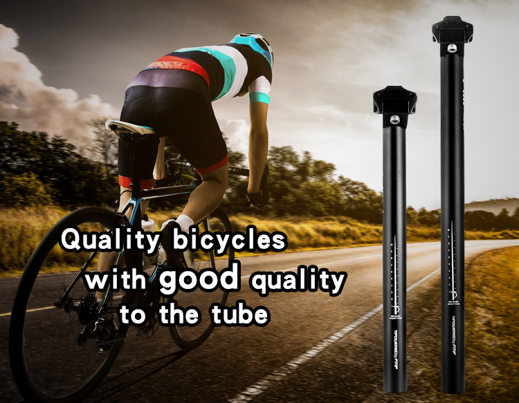 High Quality Aluminum Alloy Bike Bicycle Seatpost 30.9mm x 350m Black