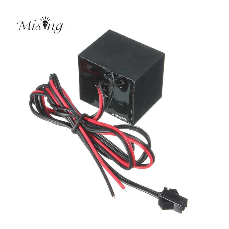 Mising LED EL Driver Controller DC 12V For 1-20M LED El Wire Glow Strip Light Inverter Supply Adapter Flexible Neon Rope Control