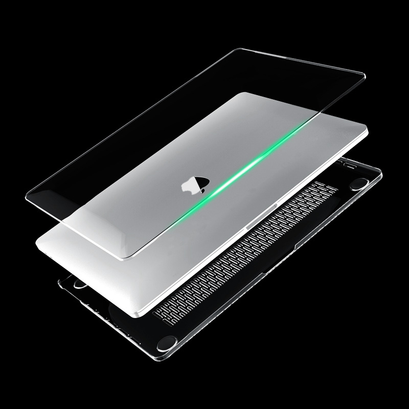 Laptop Case For <font><b>Apple</b></font> New <font><b>Macbook</b></font> <font><b>Pro</b></font> 13 <font><b>15</b></font> inch With Touch Bar 2016 2017 2018 Clear Full Body <font><b>Cover</b></font> Case image