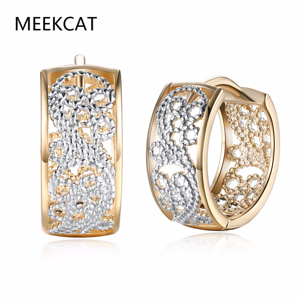Meekcat Fashion Jewellery Huggie Earing For Women White Cubic Zirconia Hoop  Earings Design Wedding Earring Brinco
