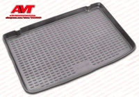 Trunk mats for Renault Scenic II 2003 1 pcs rubber rugs non slip rubber interior car styling accessories