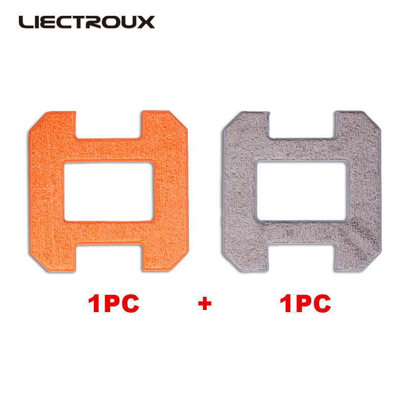 (X6 용) liectroux window cleaning robot 용 섬유 mopping cloths, 2 개/갑