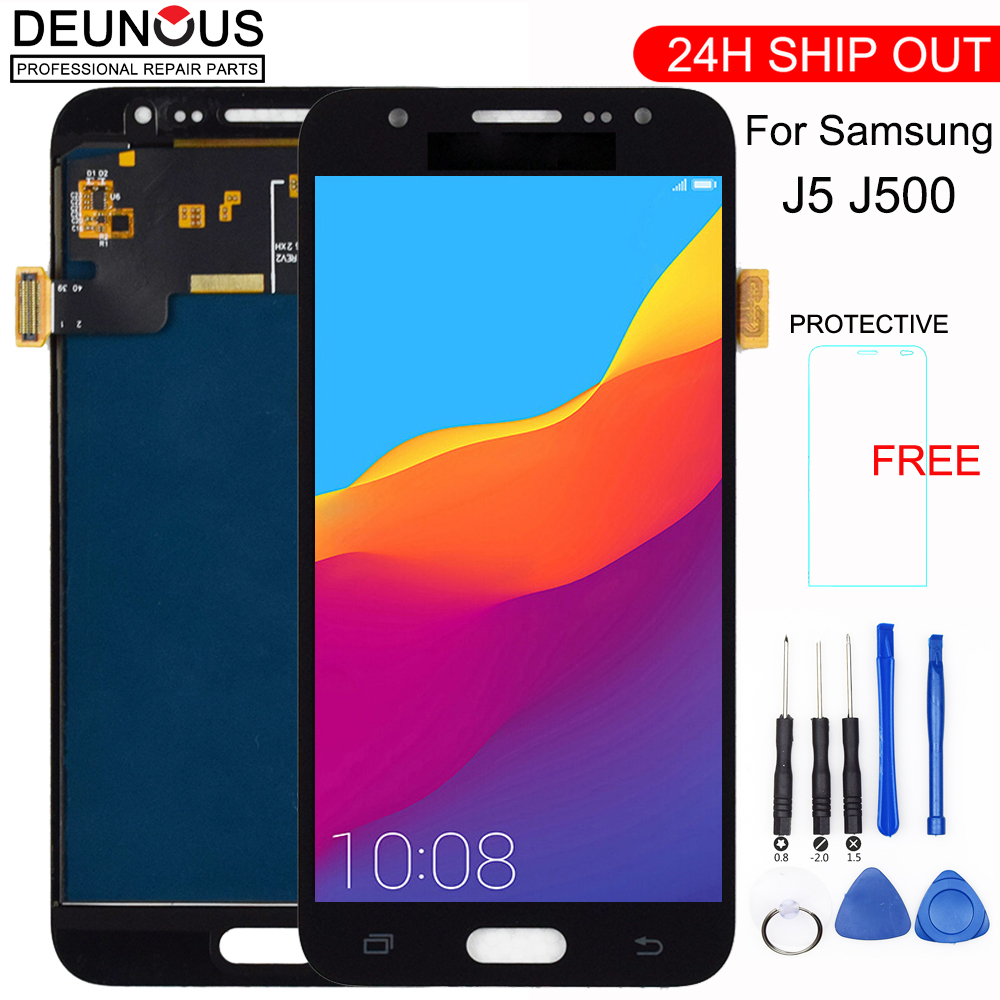 j500 <font><b>lcd</b></font> For Samsung Galaxy J5 2015 <font><b>LCD</b></font> J500 <font><b>J500F</b></font> J500FN J500M J500H Touch Screen Digitizer display j5 2015 Display <font><b>J500F</b></font> <font><b>LCD</b></font> image
