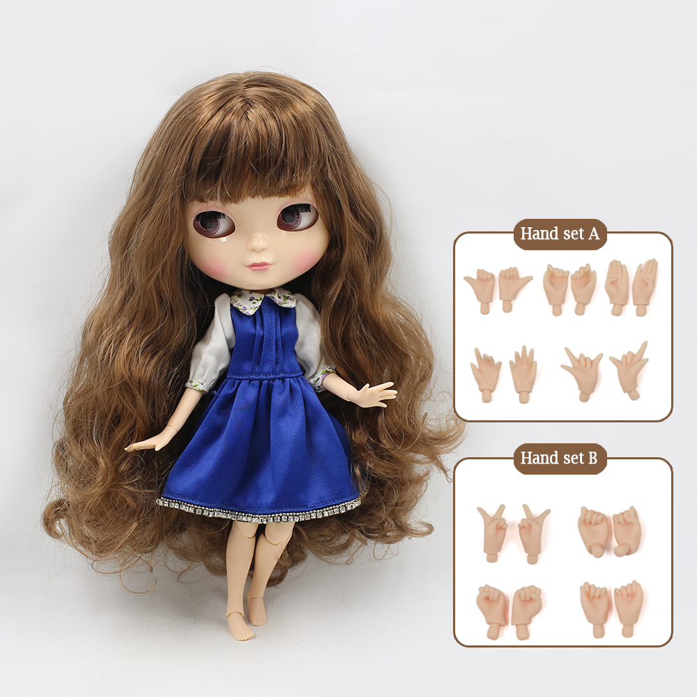 NO.9158 Cute ICY joint doll articulation body including hand set AB Gift for girls like the Neo blyth doll 1/6 30cm high