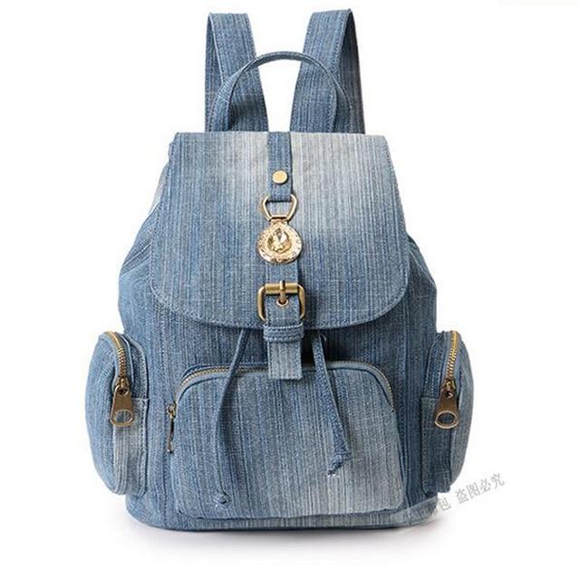 50783ce506872b Vintage teenage girls backpack casual women travel bag shoulder bags canvas  women backpack school backpacks hobo bolosa