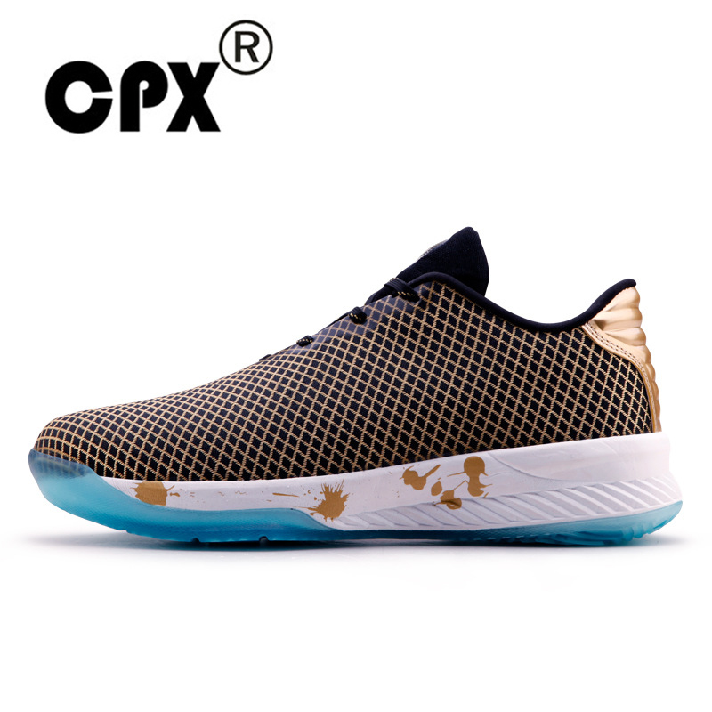 CPX Men Authentic Assassin basketball shoes the damping wear-resistant Low Gold professional Fast Speed breathable shoes peak sport speed eagle v men basketball shoes cushion 3 revolve tech sneakers breathable damping wear athletic boots eur 40 50